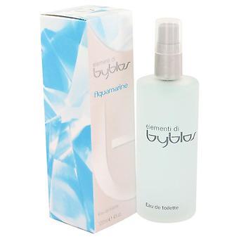 Byblos azul-marinho Eau De Toilette Spray por Byblos 4 oz Eau De Toilette Spray