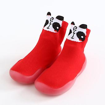 طفل طفل غير زلة الأحذية الحيوانية جورب