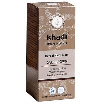 Khadi Herbal Dark Chestnut Ammonia Free Eco