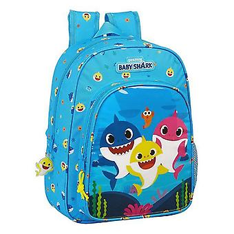 Child bag baby shark lightest blue