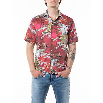 Replay Men's Shirt With Print