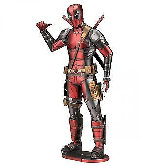 Marvel Deadpool Karakter Premium Farge 3D Metal Earth Modell Kit