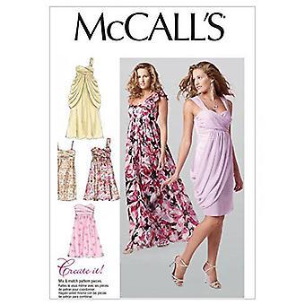 McCalls Schnittmuster 6508 Misses Special Occasion Wear Größen 12-20 D5