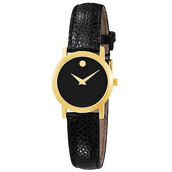 Movado Museum lederen dames horloge 0606088