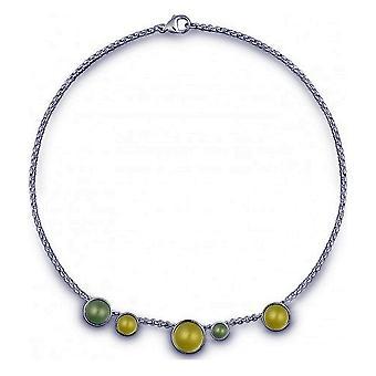 QUINN - Halskette - Damen - Silber 925 - Edelstein - Lemonquarz - 27058948