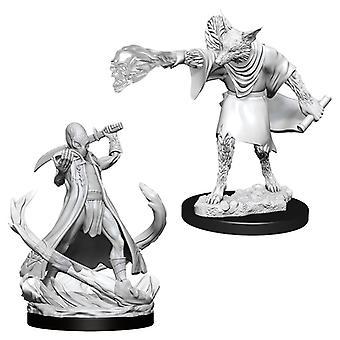 Dungeons & Dragons Nolzur's Marvelous Unpainted Miniatures (W11) Arcanaloth & Ultroloth