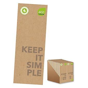 Eco Friendly Keeping It Simple Shopping List Notebook