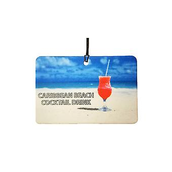 Caribbean Beach Cocktail Drink Auto Lufterfrischer
