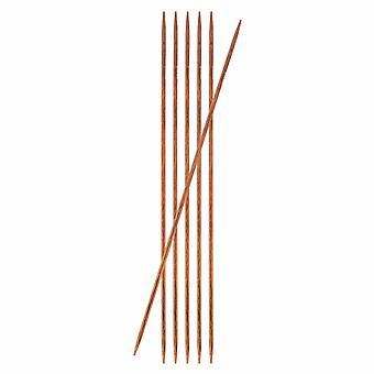 KnitPro Ginger: Knitting Pins: Double-Ended: 15cm x 2.50mm: Set of 6