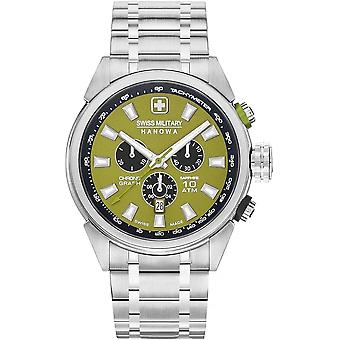 Militares suizos Hanowa 06-5322.04.006 PLATOON CHRONO Reloj masculino