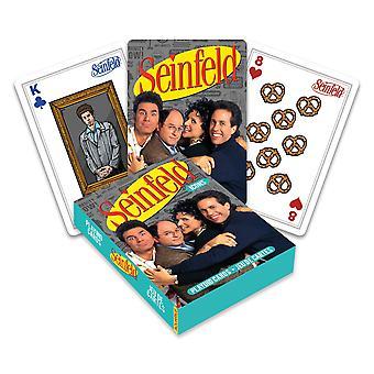 Seinfeld - ikoner som spelar kort