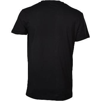 BOSS Logo Print UV-Absorbent Crew-Neck T-Shirt, Black/white