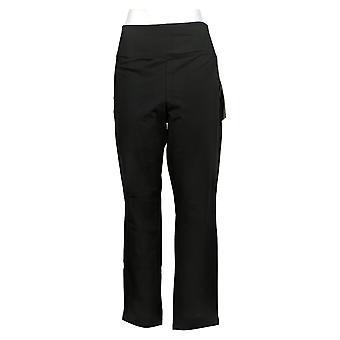 Kobiety z control shapewear slim nogawki w / talii Szwy Czarny A239671