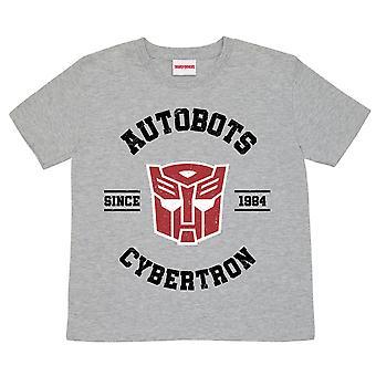 Transformers Boys Autobots Cybertron T-Shirt