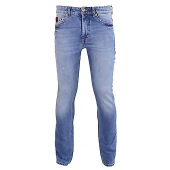 Versace Jeans Couture Jeans Couture Slim Fit Light Wash Jeans