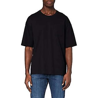 edc av Esprit Boxy Oversized T-Shirt, 001/black, L Man
