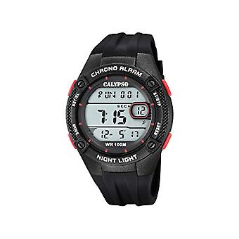 Calypso Watches Digital Quartz Watch man with plastic strapping K5765/3