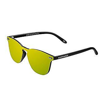 Northweek Wall Phantom Crown Sunglasses, Gold, 136.0 Unisex-Adult