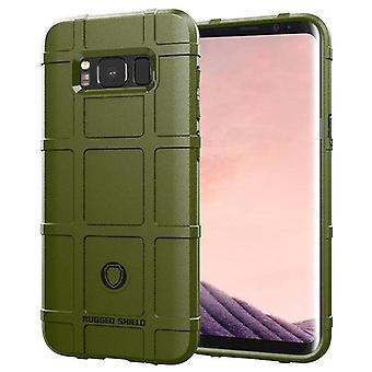 Tpu carbon fibre case for samsung s8 plus green mfkj-1132