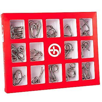 Metal Puzzle Mind Brain Teaser Magic Wire Puzzle-uri Jucarii joc pentru copii Adulti Copii Montessori