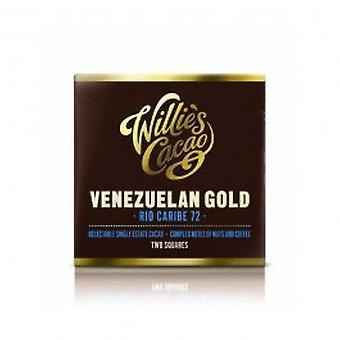 Willies - Venezuelan Rio Caribe Dark 72% Chocolate