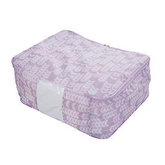 Foldable Clothes Quilt Storage Bag Oxford Fabric Storage Bag Container|Foldable Storage Bags
