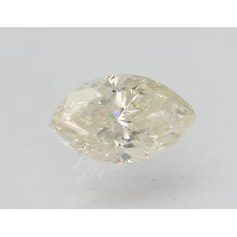 Certifié 1.12 Carat I SI2 Marquise Enhanced Natural Loose Diamond 9.2x5.16mm