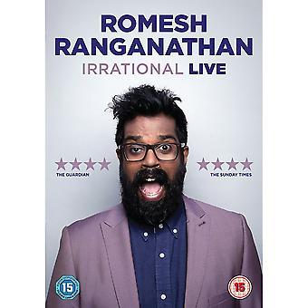 Romesh Ranganathan: Irrational Live DVD