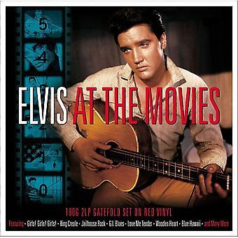 Elvis Presley - På bio röd vinyl