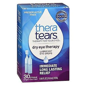 Theratears Theratears Lubricant Eye Drops Single Use Containers, 30 X 0.6 oz