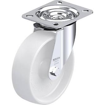 Blickle 311803 steel sheet -swivel castor with friction bearing, Ø 125 mm Type (misc.) swivel castor with mounting plate