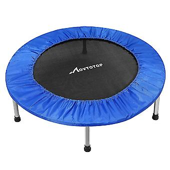 """38"""" Movtotop Skládací Indoor Mini Trampoline Rebounder pro dospělé Děti Fitness"""