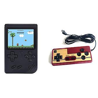 """8 Bit 3.0"""" kannettavat kädessä pidettävät pelipelaajat retro mini konsoli lapset videopelikonsoli sisäänrakennettu 500 pelit tukee yhteys tv av"""