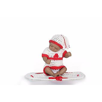 Új premie újszülött aranyos kis 12inch puha szilikon vinil igazi puha gyengéd újjászületett baba baba karácsonyi ajándék forró játék