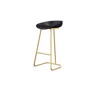 Wrought Iron, Creative Cafe, Gold Bar Chair, Front High Stool