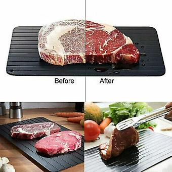 Fast Thawing Defrosting Tray Meat Thaw Safe Defrost Frozen Food Kitchen Tool