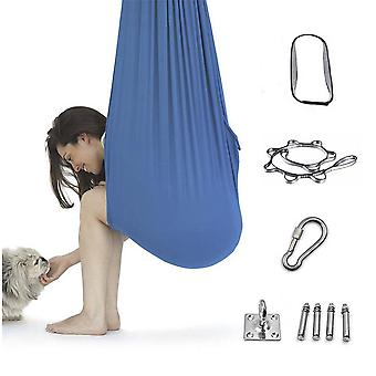 Seeunique Durable Multi-functional Elastic Aerial Yoga Hammock Swing Set Fitness Training Accessory For Beginners And Professional