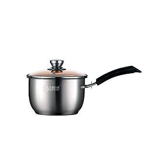 Milk Saucepan Soup Porridge Pan Suit For All Stove Induction Pots With Handle Heat-Proof Cookware
