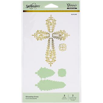 Spellbinders Glimmer Hot Foil Plate - Gleaming Cross-Expressions Of Faith