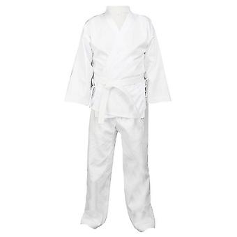 Karate Clothes Cotton Polyester Four-point Three-sleeve Championship Adult Children