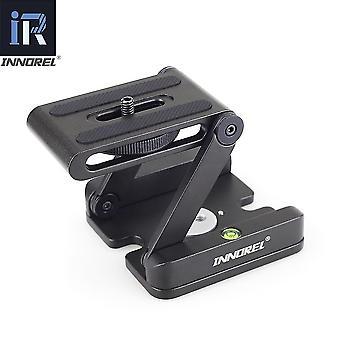 Pan Tripod Head Flex Folding Z Type Tilt Head Pour Canon Nikon Sony Dslr Camera