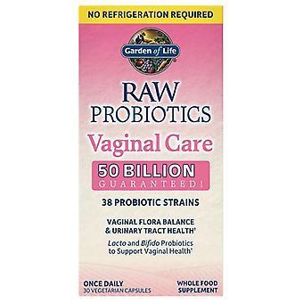 Raw Probiotics Vaginal Care (Shelf-Stable) - 30 vcaps