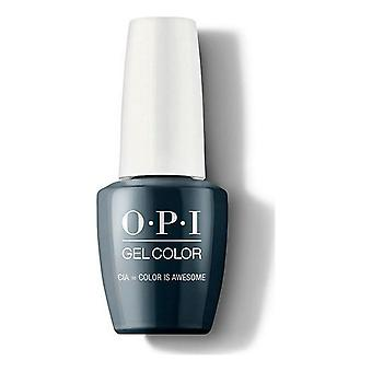 nail polish Cia Color Is Awesome Opi Dark blue (15 ml)