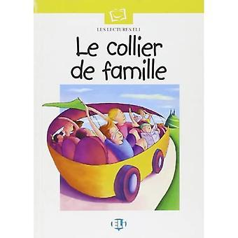 Plaisir De Lire - Serie Blanche: Le Collier De Famille - Bok & CD