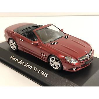 Maxichamps 940037530 Mercedes Benz SL Class 2008 Red Metallic 1:43 Scale