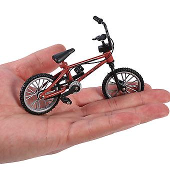 Mini Size Simulation Alloy Finger Bike Children Kid Funnt Mini Finger Bike Toy