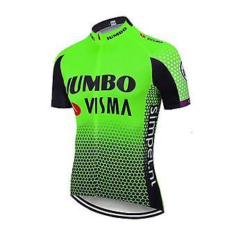 Maillot de cyclisme d'été Ensemble respirant Équipe Racing Sport Vélo Jersey Hommes Vêtements de cyclisme Short Bike Jersey Set