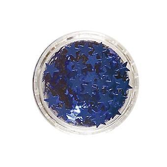 Stelle di scintillio blu