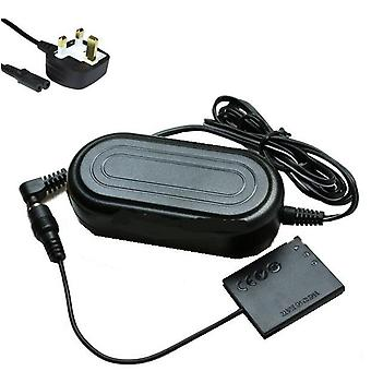 Dot.Foto replacement Canon ACK-DC90 AC Adapter Kit - CA-PS500 Mains Power Adapter & DR-90 DC Coupler - supplied with UK 3-pin mains cable [See Description for Compatibility]
