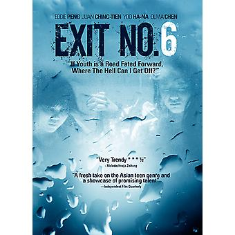 Exit No. 6 [DVD] USA import